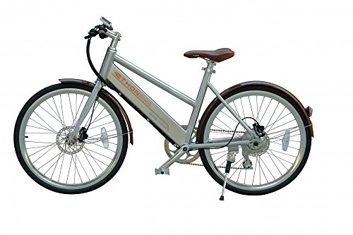 Preisvergleich Produktbild Ethon Design E-Bike Urban Queen 26 Zoll Elektrofahrrad 250 Watt bis zu 150 KM Reichweite