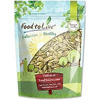 Food to Live Las semillas de calabaza crudas (pepitas) (sin cáscara, Kosher) 1.8 Kg