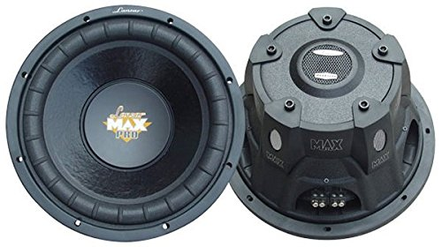 Pyle Max Pro Dual Subwoofer (25,4 cm (10 Zoll), 1200 Watt, Kleingehäuse, 4Ohm) -