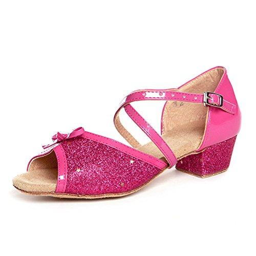 Latin Kinderschuhe/ Damenschuhe/Square Dance Schuhe für Mädchen/ dance Praxis Schuh L