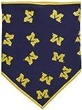 Sporty K9 Dog Bandana # 2–Universität von Michigan, Michigan Wolverines, Small