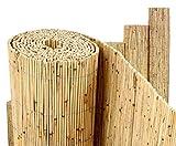 bambus-discount.com Schilfrohrmatte Premium, 100 x 300cm Sichtschutzmatte Schilfmatten