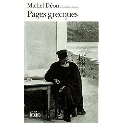 Pages grecques (Folio t. 3080)