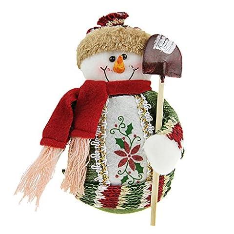 Liying Weihnachtsdeko Tischdekoration Spielzeug Stehend Puppe Weihnachtsschmuck Weihnachtswichtel Deko Figur Spielzeug aus Plüsch Geschenk für Winter Weihnachten