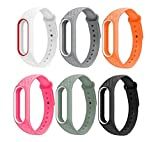 #5: J Replacement Polygon Pattern Design TPU Strap for Xiaomi MI Band 2 & Mi Band HRX (Plus Screen Guard) Tracker Not Included…