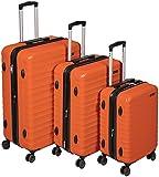 AmazonBasics Hardside Suitcase Set with Wheels, 20