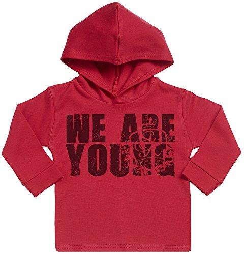 SR - We Are Young Cotton Baby Hoodie - Baby Hoody - Baby Sweatshirt with Hood - Baby Gift