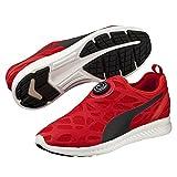 Puma Disc Sleeve Ignite Foam Sneaker schwarz rot 360946 03, Schuhgröße:EUR 42.5