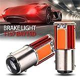 RUNGAO Lot de 2 Ampoules LED de Feux de Stop Arrière Auto Voiture lumière Turn Signal Ampoule Lampe Rouge