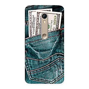 Money Money Colorful Jeans Back Case Cover for Motorola Moto X Style