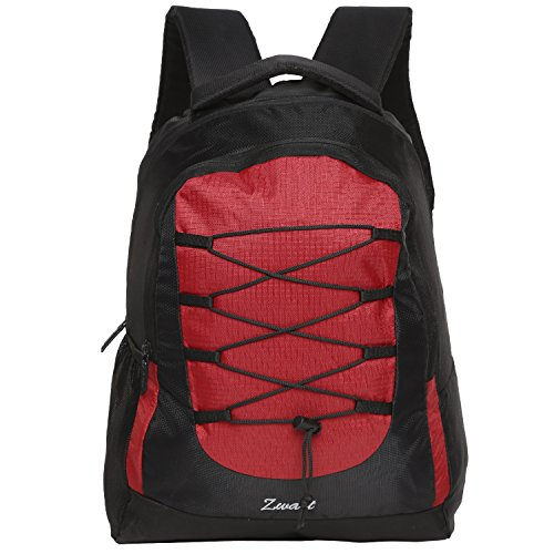 Zwart 25 Ltrs Black And Red Laptop Backpack