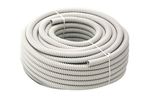 Tubifor Tubo Guaina Spiralata Flessibile Isolante Ondulata in Pvc per impianti elettrici matassa da 30 metri TFG (Diametro 20 mm)