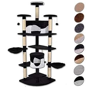 arbre chat avec griffoir grattoir et centre d 39 activit s. Black Bedroom Furniture Sets. Home Design Ideas