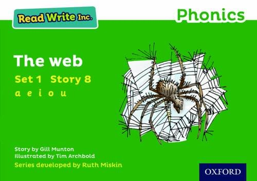 Read Write Inc. Phonics: Green Set 1 Storybook 8 The Web