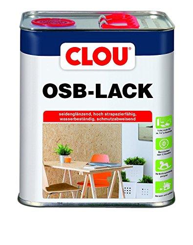 3L Clou OSB Lack Klarlack Holzlack Parkettlack seidenglänzend