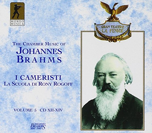 Price comparison product image Brahms: Chamber Music,  Vol. 5 - I Cameristi