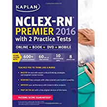 NCLEX-RN Premier 2016 with 2 Practice Tests: Online + Book + DVD + Mobile