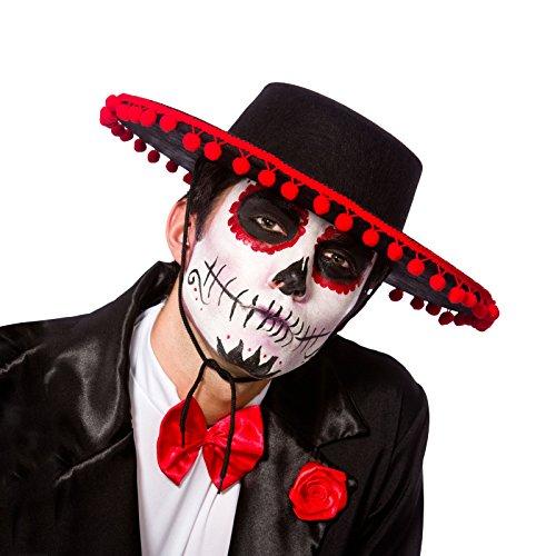 efedbcfb96416 Wicked – Sombrero de Señor mexicano para Día de los Muertos para adulto