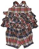 Polo_Ralph Lauren Baby Mädchen (0-24 Monate) Dekolletiertes Kleid Gr. 18 Monate, Mehrfarbig