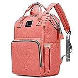 R for Rabbit Caramello Diaper Bag Backpack -Multi-Function Waterproof Mother Bag for Travel