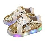 Innerternet Regalo Bambino Scarpe LED Stella Sportive Bambini Ragazzi Ragazza Scarpe con Luce Luminose Sneakers