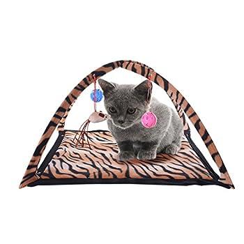WIDEN Pour animaux de compagnie chat lit tente Amusement Park Pet Supplies Pet Cat tente parc d?attractions lit Animalerie Chats Couchage et mobilier Matelas