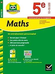 Maths 5e: cahier de révision et d'entraînement