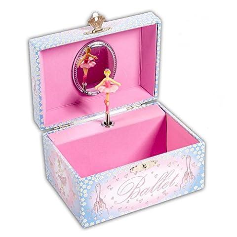 Boite Bijoux Fille - Boîte à bijoux musicale