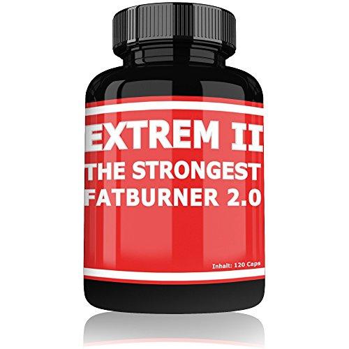 Fat Burner Extreme by Varg Power | 120 Kapseln Hochdosiert | Schnell abnehmen für Männer und Frauen | Diät Tabletten ohne Sport | Fettverbrenner Pillen