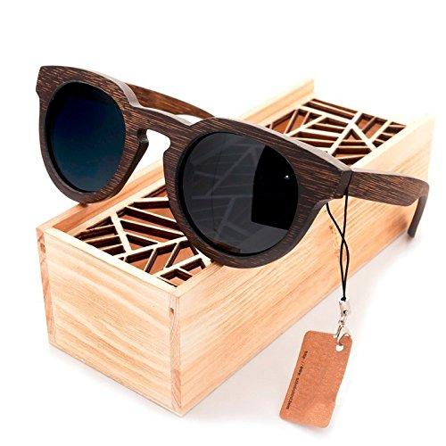 Limotai occhiali da soleocchiali da sole con lenti polarizzate occhiali da sole da donna in legno da spiaggia occhiali da sole in legno da uomo shopping per il tempo libero, escursionismo, occhiali da sole da viaggio, lenti grigie