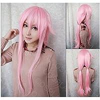 COSPLAZA Yuno Gasai Futuro Diary largo rosa anime cosplay peluca pelo sintético