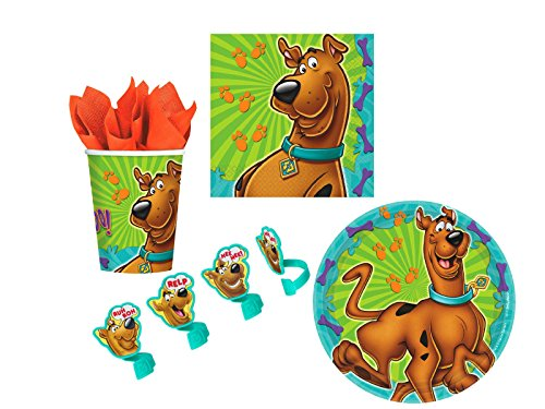 Scooby Doo Cupcake Ring Decoration and Party Supply Pack for ()