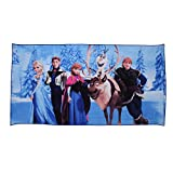 #9: Modacubo Frozen Princess Printed Blended Cotton Kid's Cartoon Bath Towel