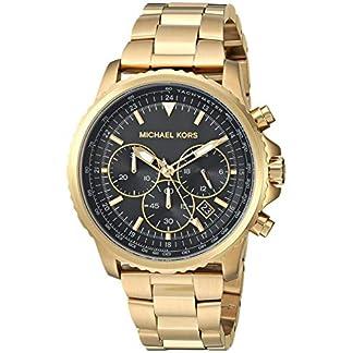Michael Kors Relojes para Hombre Theroux Cronógrafo Dorado Reloj de Acero Inoxidable