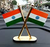 #7: Indian National Flag for Car Dashboard