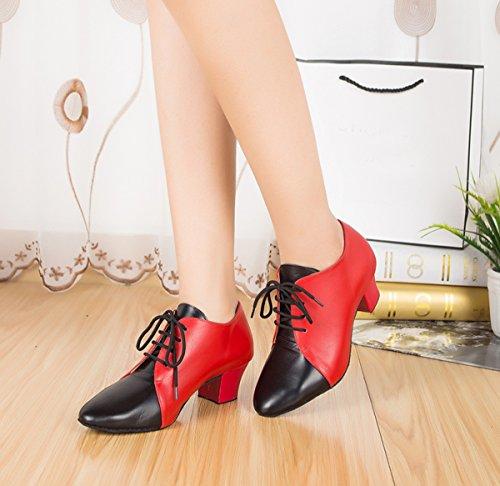 Miyoopark , Salle de bal femme Red/Black-4.5cm Heel