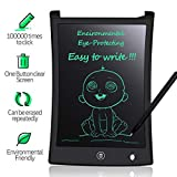 Tablette d'écriture LCD MYMAHDI, Panneau de griffonnage de 8,5 Pouces, Planche à Dessin électronique, avec Stylet d'écriture Intelligent pour Les Cadeaux pour Enfants, mémo pour réfrigérateur, Noir