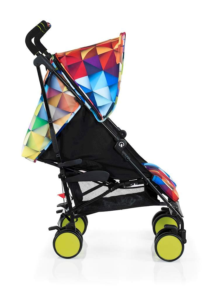 Cosatto Supa Go Stroller (Spectroluxe), suitable from birth, 7 kg Cosatto Compact from-birth pushchair, carries up to 25kg child, so you can use it for longer This storage superstar is a transport-friendly compact umbrella folder and fits in smaller cars Upf100+ extendable hood plus rain cover 2