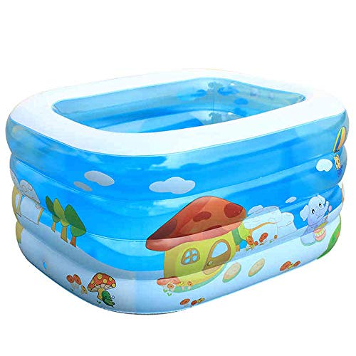 ZDYG Piscina para bebés - Piscina Infantil Inflable, Family Fun Lounge Pool...