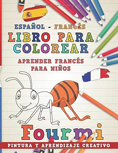 Libro para colorear Español - Francés I Aprender francés para niños ...