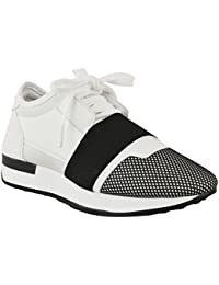 Fashion Thirsty, Sneaker bambine, Bianco (bianco), 35