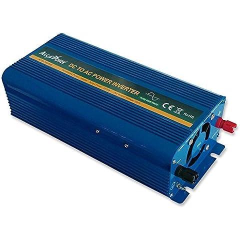 Inverter 1500W 12V Onda Pura AlcaPower Fotovoltaico Casa Baita Stand-Alone