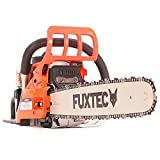FUXTEC Benzin Kettensäge FX-KSE152 Schwert 50 cm Kette 52 cc Motorsäge MS Motorkettensäge PS Säge