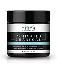 Natural Teeth Whitening - Activated Charcoal 100% Natural Teeth Whitening Powder