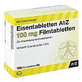 Eisentabletten Abz 100 mg Filmtabletten 100 stk