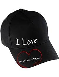 Gorra de béisbol I Love República Dominicana ...