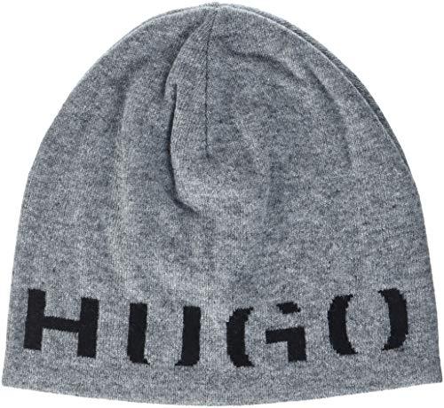 HUGO Herren Men-X 474 Strickmütze, Grau (Open Grey 081), One Size (Herstellergröße: STCK)
