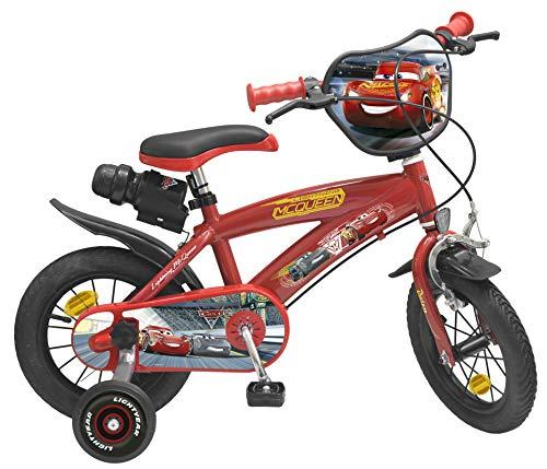 Toimsa-Bicicletta per Bambino sotto Licenza Cars 312Pollice di 3a 5Anni, 742