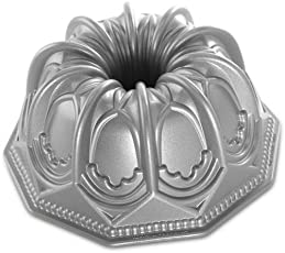 NordicWare Backform/Kuchenform/Motivbackform - Kuppel, Aluminium, Silber, 24 x 24 x 10,2 cm, 1 Einheiten
