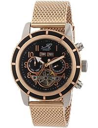 Ingraham Herren-Armbanduhr XL Portland Analog Automatik Edelstahl beschichtet IG PORT.1.223177